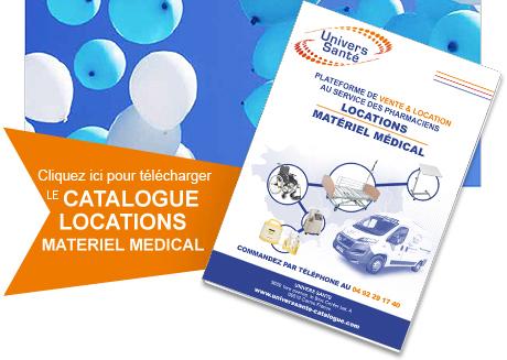Catalogue location matériel Univers Santé