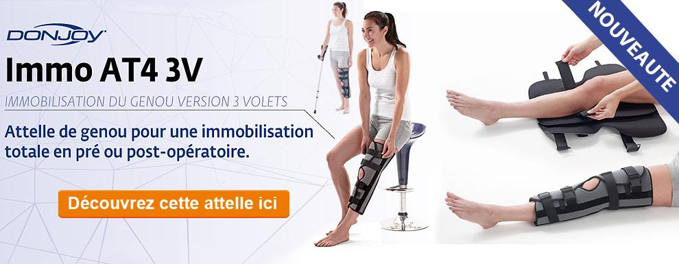 Découvrez la nouvelle attelle d'immobilisation du genou IMMO AT4 3V