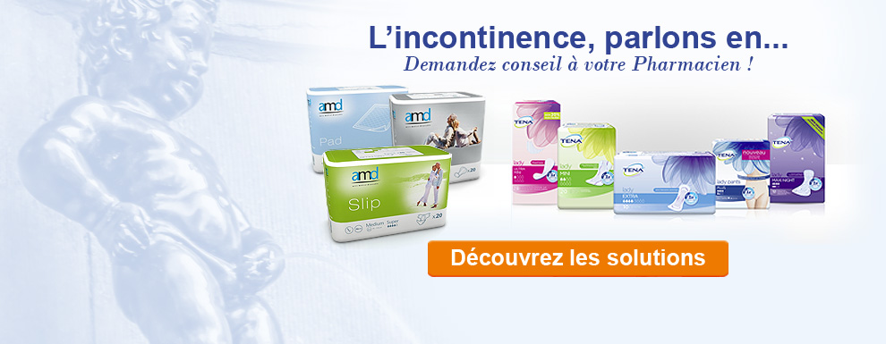Rayon incontinence marque TENA