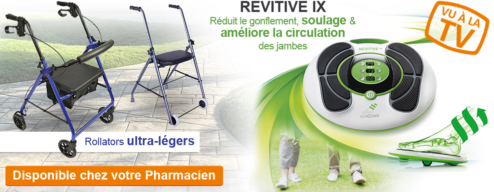 Visiter le rayons ROLLATORS