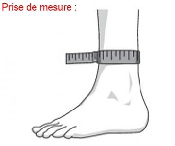 Chevillère - AchilloTrain - Droite - Titane - BAUERFEIND