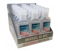 Gel de Désinfection - Aniosgel 85 NPC - Présentoir de 15 Flacons de 75 ml - ANIOS