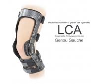 Attelle de Genou - Armor - Action Courte - LCA - Gauche - DJO