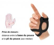 Orthèse de Pouce Droit - ActiMove Rhizo Forte - Noir - BSN MEDICAL