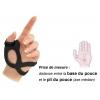 Orthèse de Pouce Gauche - ActiMove Rhizo Forte - Noir - BSN MEDICAL