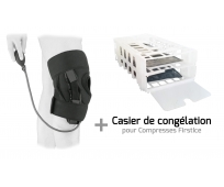 Attelle Genou - Stabifroid Plus + Casier congélation et Pack froid Combo DFP - EZY WRAP - SOBER
