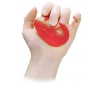 Eggsercizer orange résistance extra souple pour la rééducation de la main et de l'avant bras - SISSEL