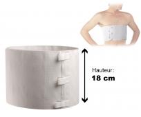 Ceinture Thoracique - Cemen - 18cm - THUASNE