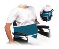 Ceinture et Sangle pelvienne auto-agrippante - Maintien au fauteuil roulant manuel - PHARMAOUEST
