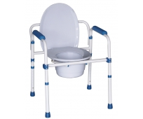 Cadre de Toilettes - Blue Steel 3 en 1 - HEDERGEN