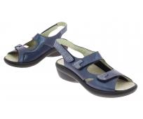 Chaussures CHUT - Femme - Damia Bleu Marine - PODOWELL