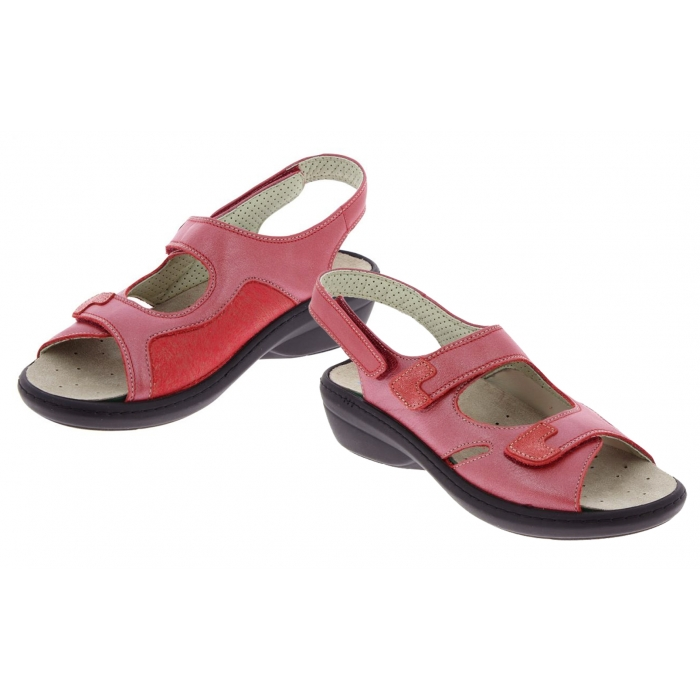 Chaussure Chut Rouge Chaussures Podowell Orthopédique Dina N8nmvO0w
