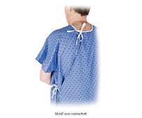 Chemise de malade modèle hospitalier  - PHARMAOUEST
