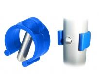 Clip - pour canne 22mm - Bleu - HERDEGEN