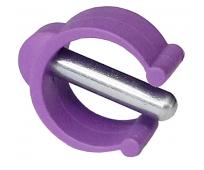 Clip violet pour canne anglaise pour enfant - HERDEGEN