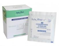 Compresse de Gaze - Stérile - 7,5x7,5cm - Syla First - LPPR - 25 sachets de 2 - SYLAMED