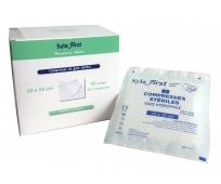 Compresse de Gaze - Stérile - 10x10cm - Syla First - LPPR - 50 sachets de 2 - SYLAMED