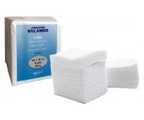 Compresse en Non Tissé - Non Stérile - 10x10cm - SylaSoft - Paquet de 100 - SYLAMED