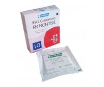 Compresse en Non Tissé - Stérile - 7,5x7,5cm - 10 sachets de 2 - EUROMEDIS