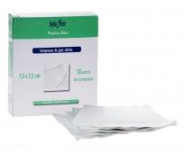 Compresse de Gaze - Stérile - 7,5x7,5cm - Syla First - LPPR - 10 sachets de 2 - SYLAMED