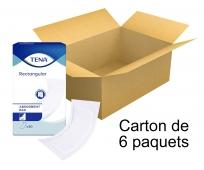 TENA Couches Droites Traversables - Maxi x30 - Carton de 6 paquets