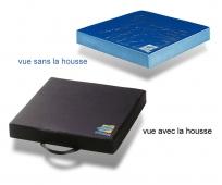 Coussin Anti-Escarres - en Gel et Mousse - Polyform Mixte - 2 Housses - SYSTAM