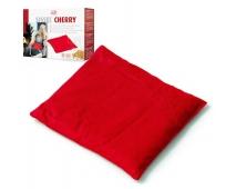 Coussin Chauffant - Noyaux de Cerises - 24x26cm - Rouge - SISSEL