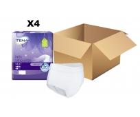 TENA Lady Silhouette - Nuit - Carton de 4 paquets