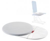 Disque de Transfert - Position Assise - Aquatec Trans XL - Blanc - INVACARE