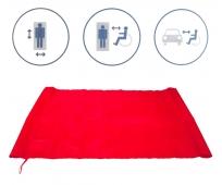 Drap de Glisse - Rouge - 122 x 71 cm