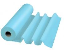 Drap d'Examen Plastifié - Bleu - Le rouleau - LCH