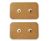 Electrodes à Bouton Pression - AllSnap - 2 Snap - 5x10cm X2 - SCHWA MEDICO