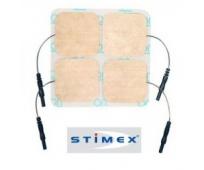 Electrodes STIMEX 5x5cm x4 - SCHWA-MEDICO