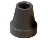 Embout noir pour cannes de marche 19mm - INVACARE