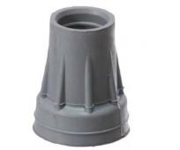 Embout gris pour canne de marche 18/40mm - HERDEGEN