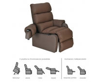 Fauteuil Releveur - 2 moteurs - Cocoon Choco - INNOV'SA