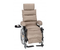 Fauteuil Roulant Manuel de Confort - Weely Nov' - Velours Grège - INNOV'SA