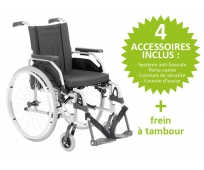 Fauteuil Roulant Manuel - Dossier Fixe - START M1 V5 - OTTOBOCK