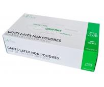 Gants Latex - Non Poudrés - Bte de 100 - FRIIMOV