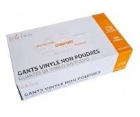Gants Vinyle Non Poudrés - Bte de 100 - FRIIMOV