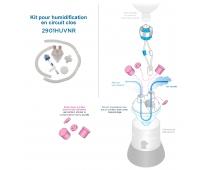 Kit pour humidification en circuit clos pour bouteille à pas de vis - 2901HUVNR - SYSTAM
