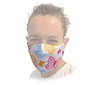 Masque Barrière - Papillons - Taille S/XS - Femme et Adolescent(e)