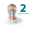 Masque nasal PPC - Evora - 2 Bulles - Pack Annuel - FISHER & PAYKEL