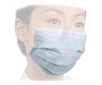 Masque 3 Plis - Type II - Haute Filtration - Avec Élastique Auriculaire - Blanc x50 - ANSELL