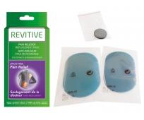 REVITIVE - Pack Gels Pads + Pile de remplacement - Dispositif portatif Anti-Douleur