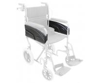 Panneaux d'accoudoirs avec fixation pour fauteuil de transfert Alu Lite x2 - INVACARE