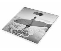 Pèse-personne en Verre - Surfer Plage - LITTLE BALANCE
