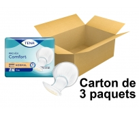 TENA Comfort Proskin - Protections Anatomiques - Normal - x42 - Carton de 3 paquets