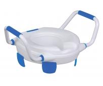 Rehausse WC Avec pattes de maintien et Accoudoirs - Clipper IV - HERDEGEN