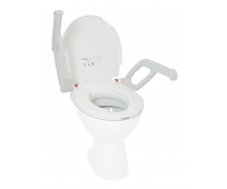 Rehausse WC 6cm avec Abattant et Accoudoirs - Aquatec AT90000 - INVACARE